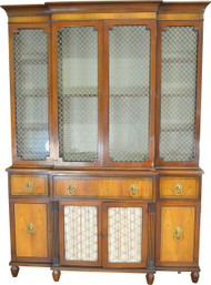SOLD Large Breakfront Cabinet by Kittinger