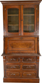 SOLD Victorian Slant Top Secretary Desk