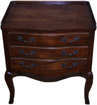 18256 Cherry Three Drawer Stand by Baker