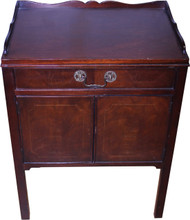 SOLD Mahogany Nightstand by Baker