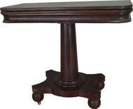 17443 Empire Mahogany Game Table