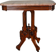 SOLD Victorian Marble Top Parlor Stand