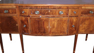 18281 Period Hepplewhite Inlaid Mahogany Sideboard