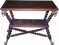 18275 Mahogany Barley Twist Parlor Stand by Merklen