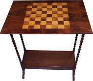 18274 Victorian Checker Game Table