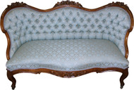 SOLD Victorian Rose Carved Beautiful Sofa