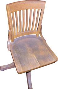18302 Oak Office Chair by Gunlocke