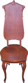 SOLD Oak Ladies Desk Chair