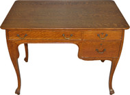 SOLD Oak Art Nouveau Ladies Writing Desk