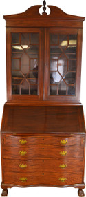 17636 Mahogany Governor Winthrop Secretary Desk