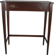 17048 Mahogany Hall Stand with Drawer