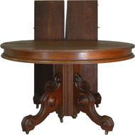 SOLD Victorian Round Walnut Dining Table