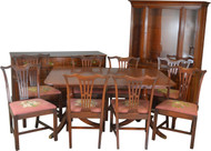 SOLD Mahogany 11 Piece Formal Dining Room Set