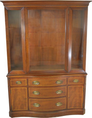 17608B Mahogany Formal Duncan Phyfe China Cabinet