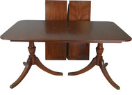 SOLD Mahogany Formal Duncan Phyfe Dining Room Table