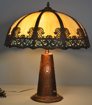 17724 Oversize Scenic Panel Lamp Lighthouse Theme