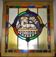 SOLD Stained Glass Leaded Window Victorian Age