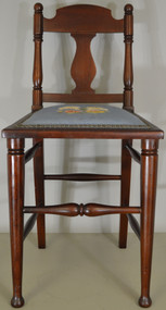 17846 Needlepoint Ladies Vanity Chair – FREE SHIPPING