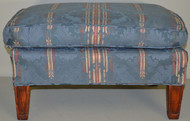 SOLD Large Blue Hassock