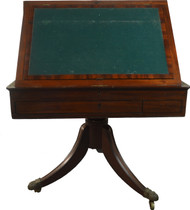 19829 Rare Irish Mahogany Architect's Table