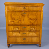 SOLD Antique Period Maple Abante Secretary
