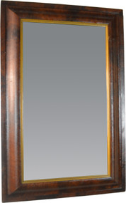 19824 Empire Ogee Mirror with Unusual Gold Liner