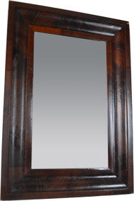 19818 Empire Flame Mahogany Mirror – Civil War Era