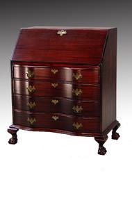 SOLD Mahogany Governor Winthrop Secretary Desk