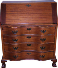 18258 Mahogany Governor Winthrop Desk by Maddox
