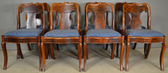 17936 Period Empire Set of 8 Chairs – RARE