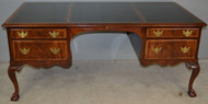 17937 Kittinger Executive Leather Top Desk