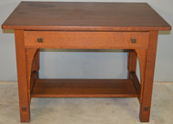 18574 Mission Oak Writing Desk by Limbert