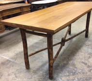 SOLD Hickory Dining Table