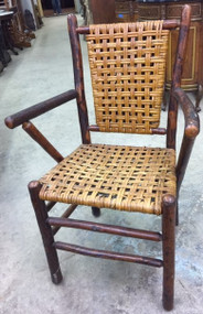 SOLD Hickory Arm Chair