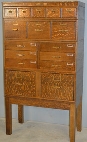 SOLD Victorian Oak Sectional File Cabinet – Library Bureau Sole Makers