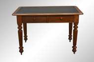 SOLD Walnut Library Writing Table- Civil War Era