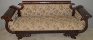 17713 Federal Period Sofa with Serpent Bird Heads