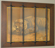 18555 Caged Tiger Picture Frame