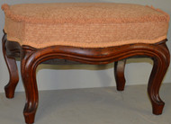 SOLD Victorian Cabriole Leg Footstool