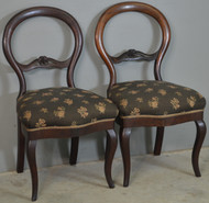18710 Pair of Victorian Ladies Chairs