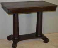 18718 Mahogany Empire Library Writing Desk