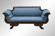 SOLD Federal Style Period Carved Sofa