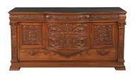 19881 Horner Mahogany Carved Sideboard