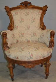 18772 John Jelliff Gentleman's Arm Chair