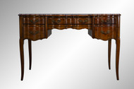 SOLD French Style Leather Top Writing Desk