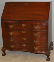 SOLD Mahogany Governor Winthrop Desk