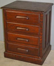 SOLD Oak Lawyers Companion File Cabinet