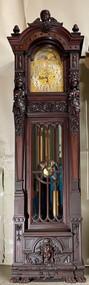 19842 R.J. Horner Carved Grandfather Clock