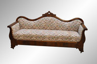 SOLD Empire Flame Mahogany Period Sofa