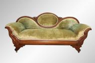 SOLD Antique Victorian Civil War Era Sofa